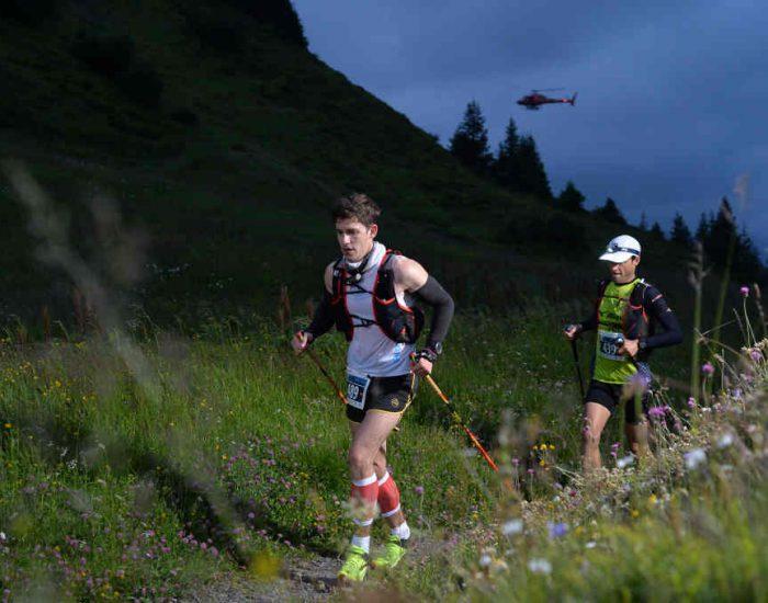 Pascal beim Eiger Ultra Trail