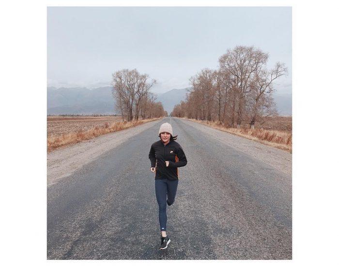 Laufen in Kirgistan